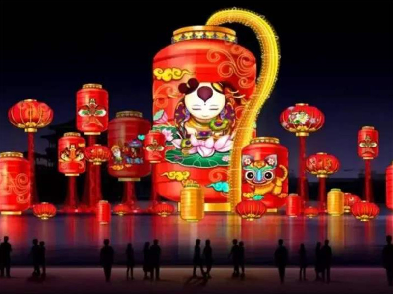 """2020年 辽宁省朝阳市喀左县""""子鼠贺岁 魅力喀左""""大型花灯展精彩纷呈"""