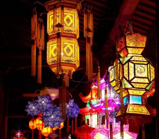 全国都有哪些有名的元宵花灯彩灯
