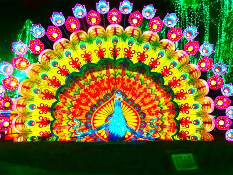 2021年齐齐哈尔首届国际彩灯艺术节