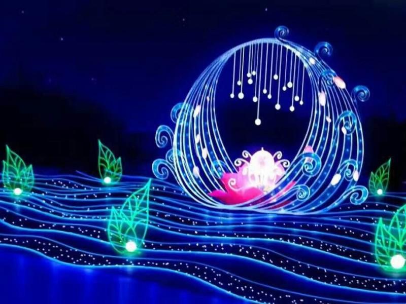 第二届自贡国际恐龙灯光节将于9月10日开幕
