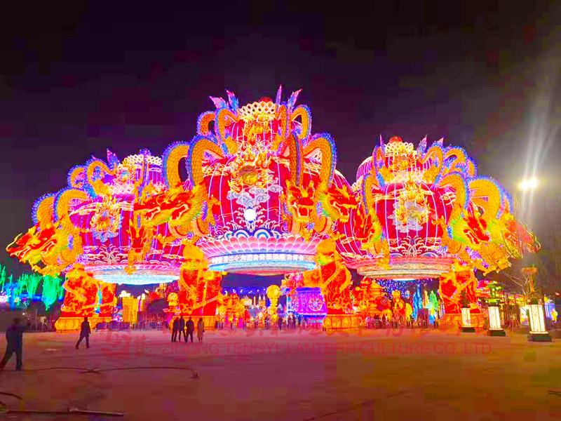 全国大力发展夜间经济将有助于自贡彩灯行业的花灯展会业快速突围