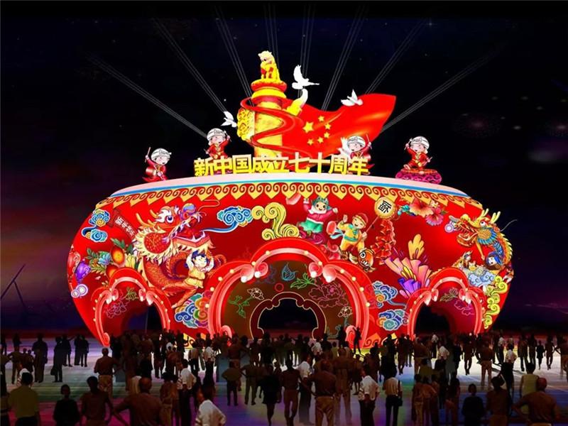 银川中国花卉博览园灯会活动再度推迟-宁夏花博园花灯