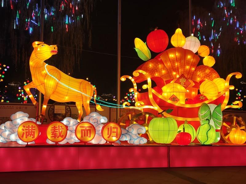 第二届泰安老街爱琴海花灯节