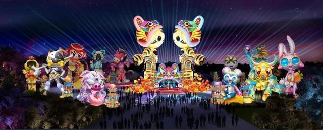 2022年自贡灯会将于12月下旬开幕